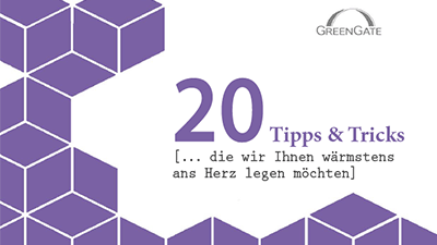 20 Tipps & Tricks vom Support